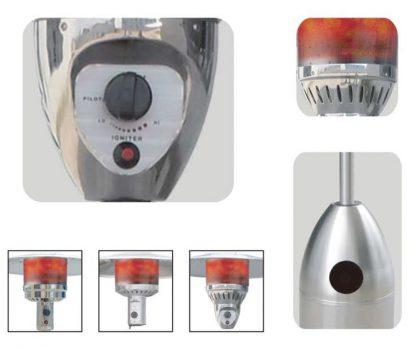 Bullet Patio Heater
