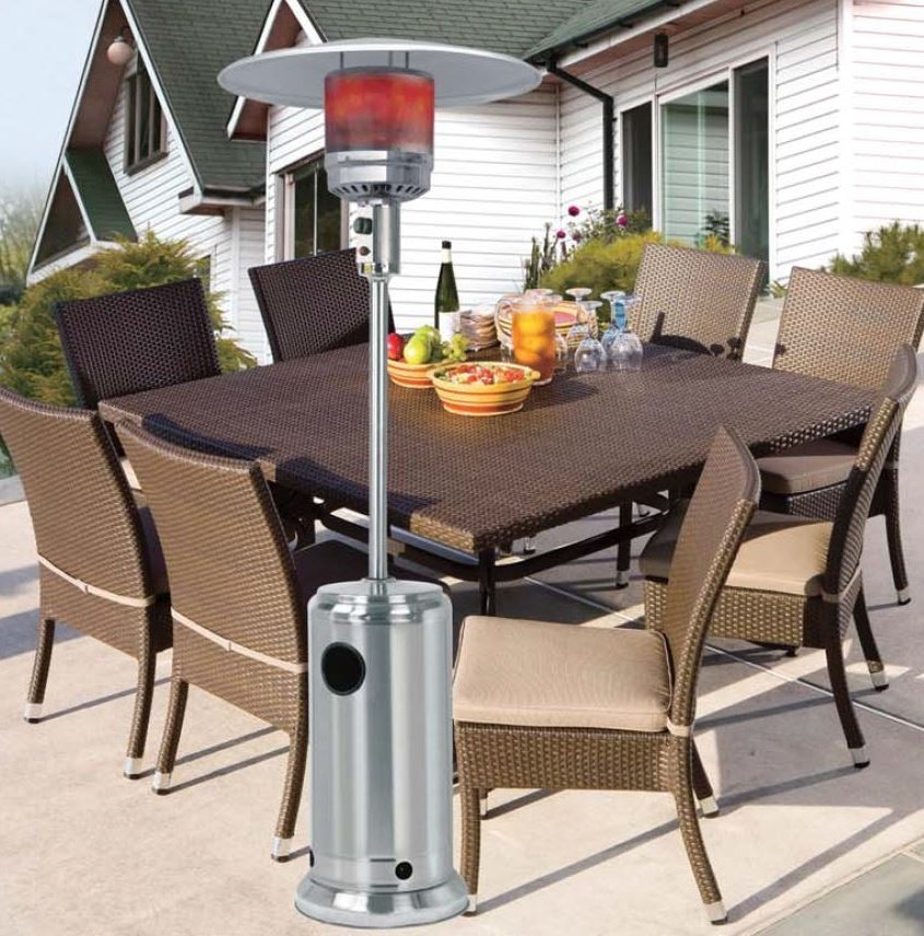 Mushroom stainless steel patio heater Patio products